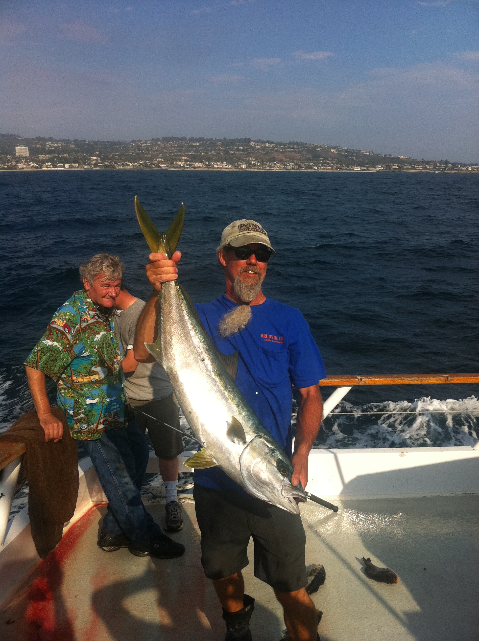Socalsalty trip report pm half day new seaforth for Seaforth fishing report